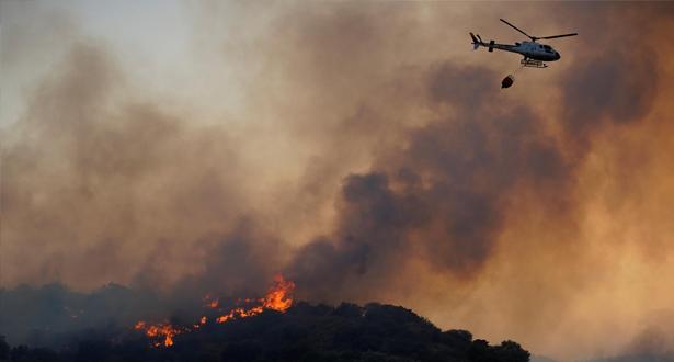 حرائق الغابات بإسبانيا...النيران تأتي على أزيد من 8000 هكتار