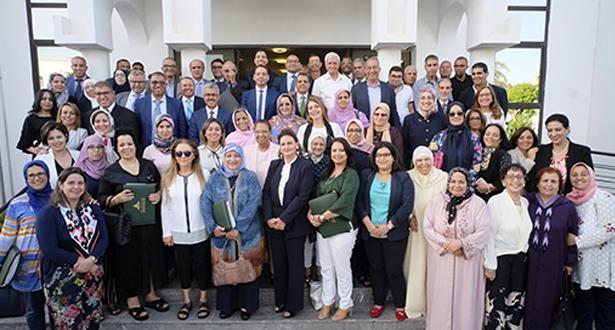الأميرة للا زينب تترأس اجتماع الجمع العام العادي للعصبة المغربية لحماية الطفولة