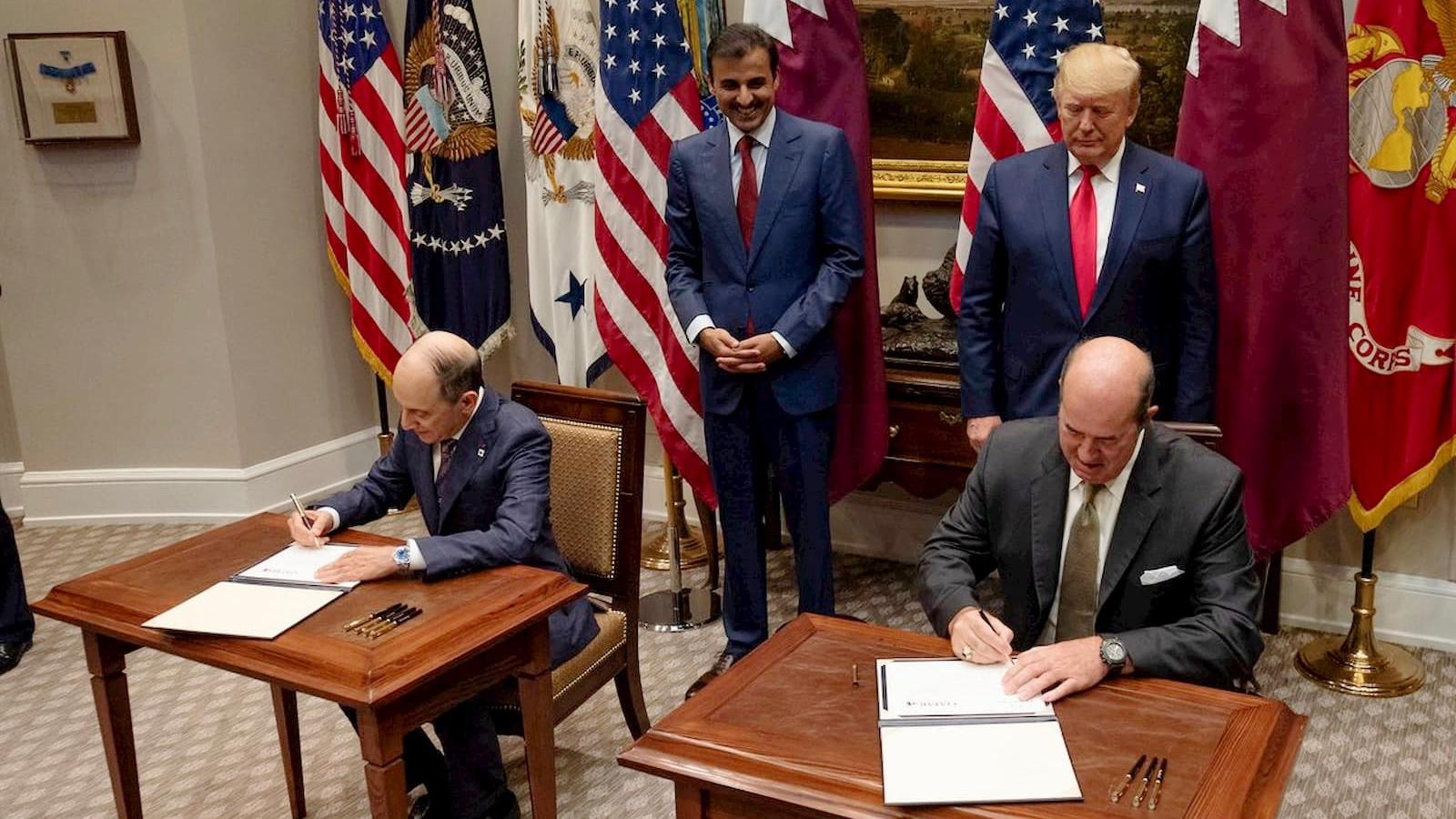 الدوحة وواشنطن توقعان اتفاقيات تعاون في مجالات الدفاع والطاقة والنقل