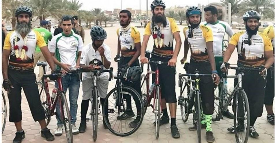 وصول ثمانية بريطانيين على متن درجات هوائية للسعودية لأداء مناسك الحج