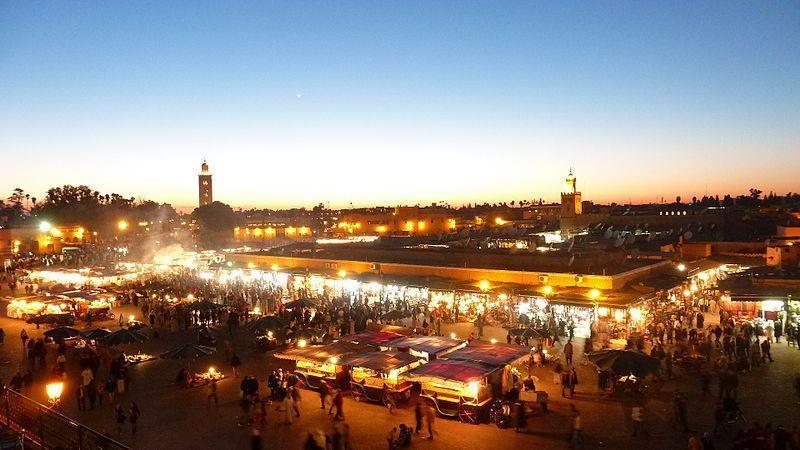 ارتفاع عدد ليالي المبيت بمؤسسات الإيواء السياحية المصنفة بمراكش ب8 في المائة