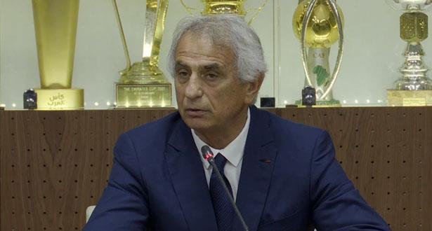 أول تصريح لخليلوزيتش بعد تعيينه مدربا للأسود