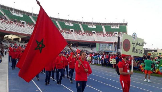 المغرب يظفر بـ 13 ميدالية ذهبية في ختام اليوم السادس من الألعاب الافريقية