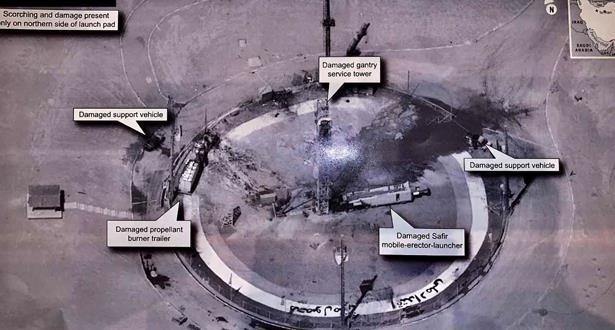 انفجار صاروخ إيراني قبل إطلاقه.. وترامب : لسنا متورطين..!