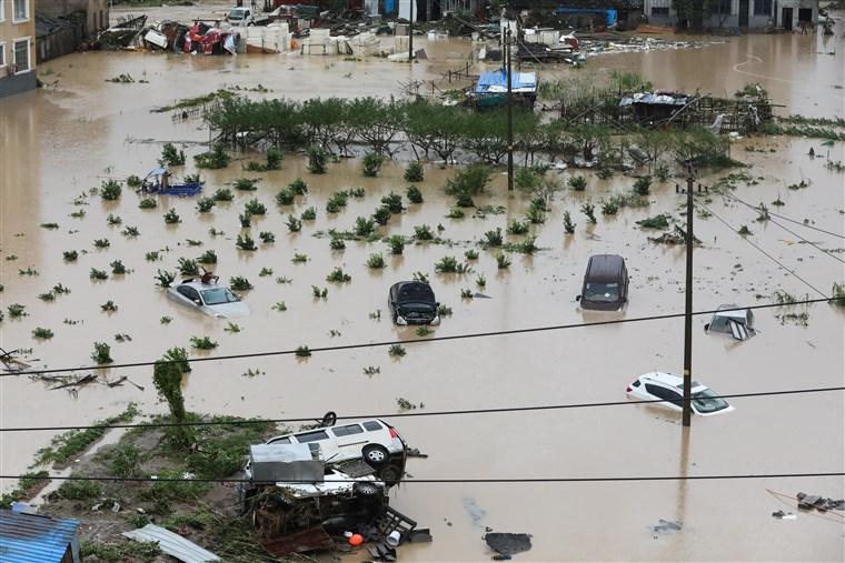 """تضرر أكثر من 12 مليون شخص جراء إعصار """"لكيما"""" في الصين"""