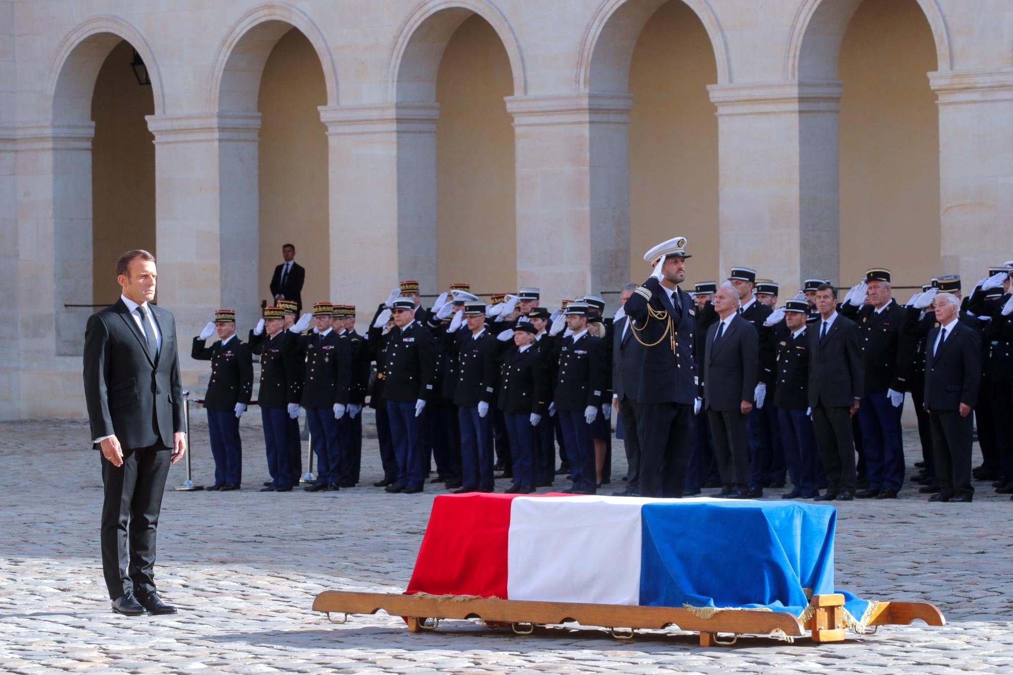 جنازة رسمية وتكريم وطني لجاك شيراك بحضور العديد من الشخصيات الأجنبية