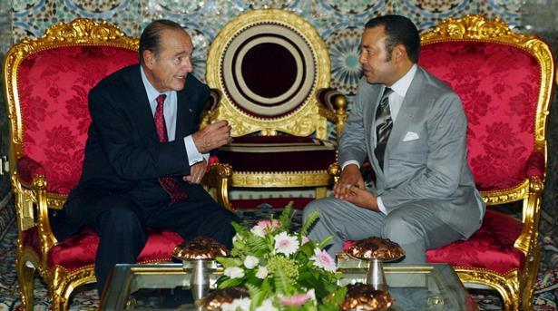 وفاة الرئيس شيراك .. الملك محمد السادس يشيد بذكرى رجل دولة كبير