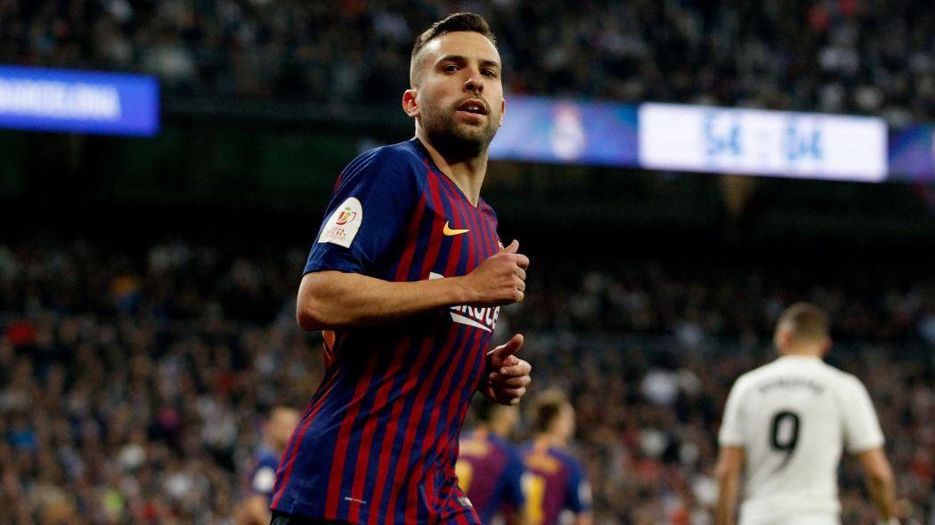 برشلونة يكشف تفاصل إصابة مدافعه جوردي ألبا
