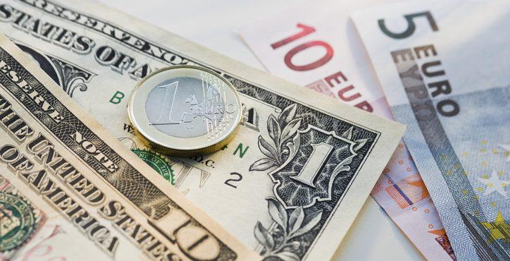 الأورو قرب أدنى مستوياته أمام الدولار منذ ماي 2017