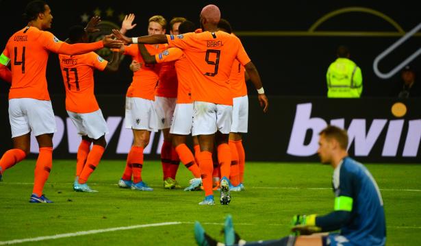 هولندا تحقق فوزا كبيرا على ألمانيا في عقر دراها