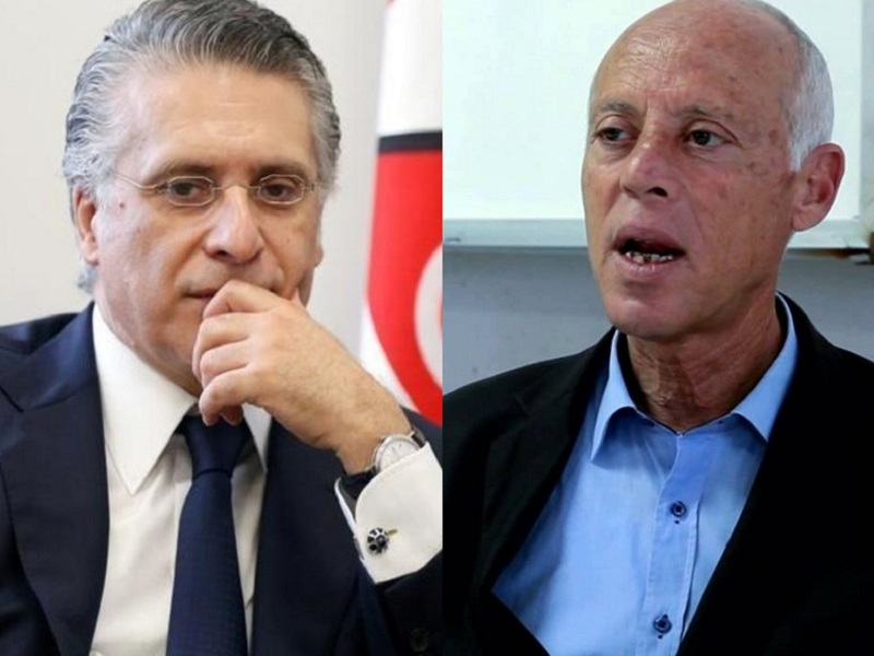 رسميا.. قيس سعيد ونبيل القروي إلى الدور الثاني للانتخابات الرئاسية التونسية