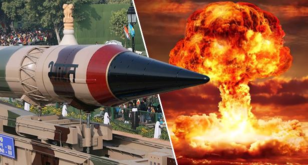ملايين القتلى وكوارث مناخية عالمية..هذا ما سيحدث إذا نشبت حرب نووية بين الهند وباكستان