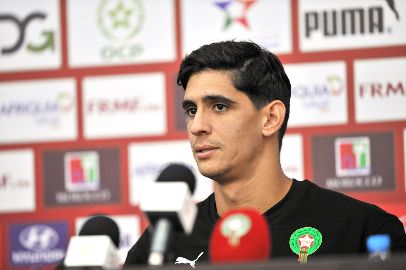 تصريح الحارس ياسين بونو حول أهمية مباراة ليبيا بالنسبة للمنتخب المغربي