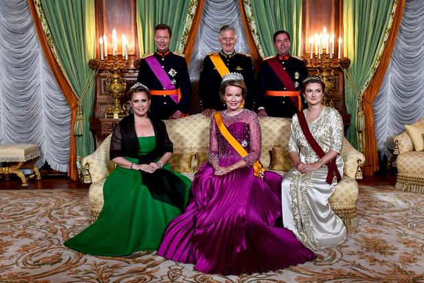 دوقة لوكسمبورغ تظهر بقفطان مغربي في حفل رسمي