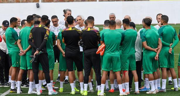"""إقصائيات """"كان2021"""" .. تشكيلة المنتخب المغربي أمام بوروندي"""