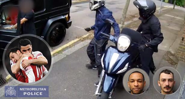 بعد اعتقال اللصين..شرطة لندن تكشف فيديو جديد للهجوم على أوزيل وكولاسيناك !