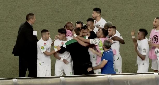 الرجاء يعوض هزيمة الترجي بفوز ثمين من قلب كنشاسا
