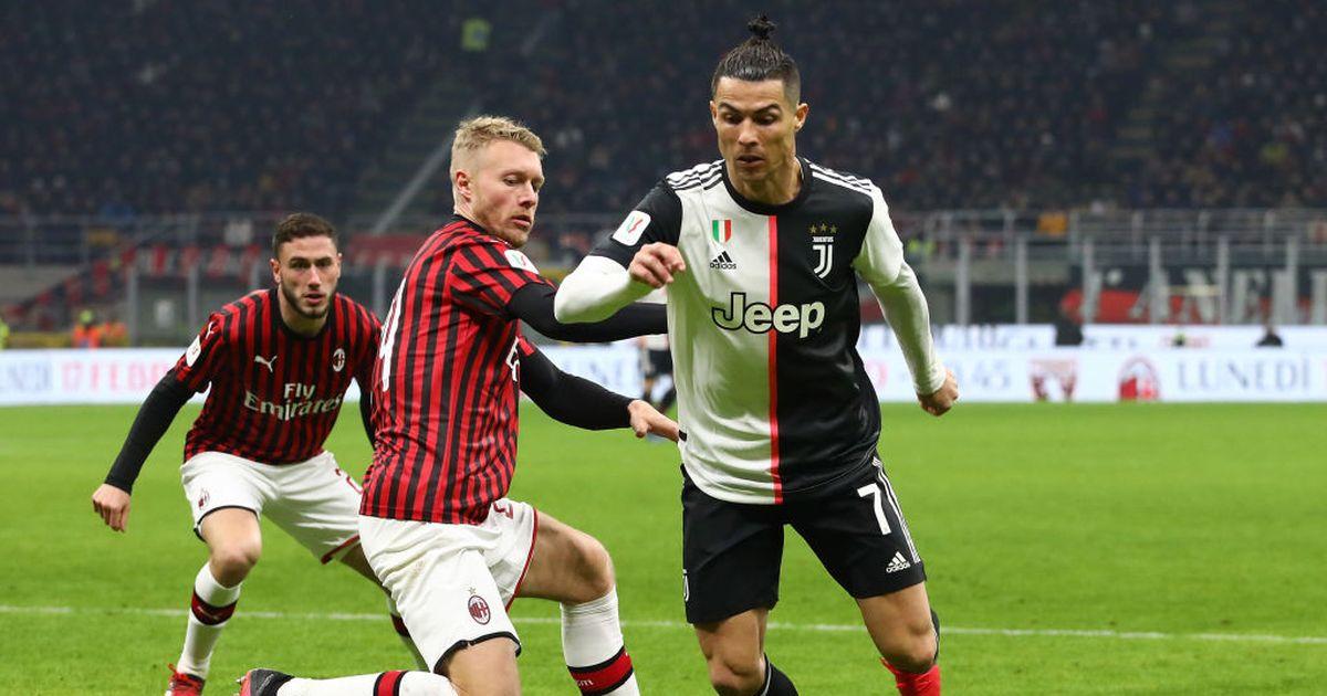 فيروس كورونا: تأجيل مباراة قبل نهائي كأس إيطاليا بين يوفنتوس وميلان