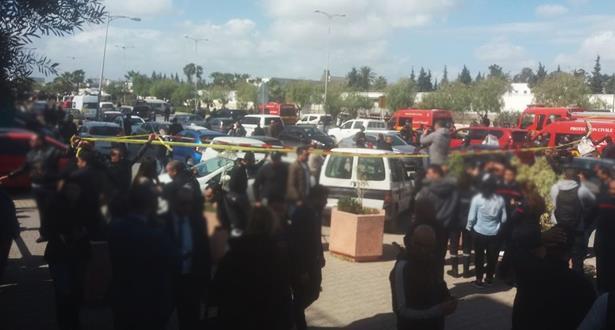 وزارة الداخلية التونسية: تفجير في الحي الذي توجد فيه السفارة الأمريكية