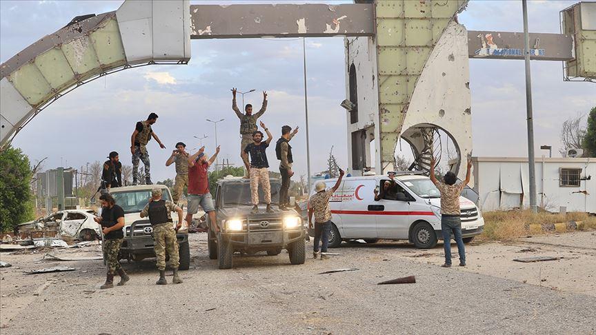 قوات حكومة الوفاق الوطني تستعيد السيطرة على مطار طرابلس الدولي (مادة صوتية)