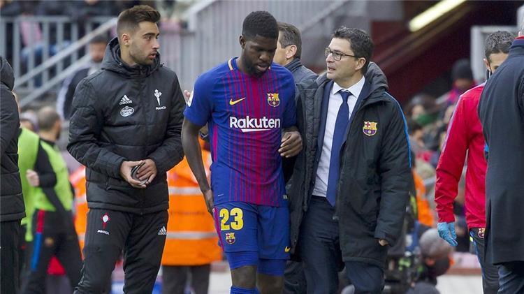بطولة إسبانيا... الإصابة تبعد أومتيتي مجددا عن برشلونة