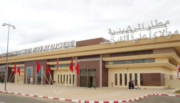 الرحلات الداخلية..تدابير متعددة بمطار مولاي علي الشريف بالرشيدية