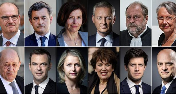 فرنسا .. لائحة الحكومة الفرنسية الجديدة